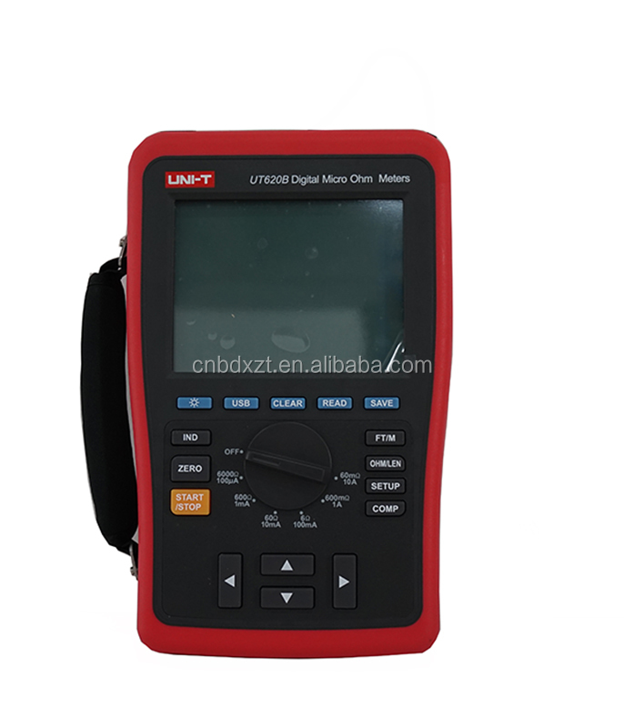 UNI-T UT620B Digital Micro Ohm Meters Low Resistance Tester