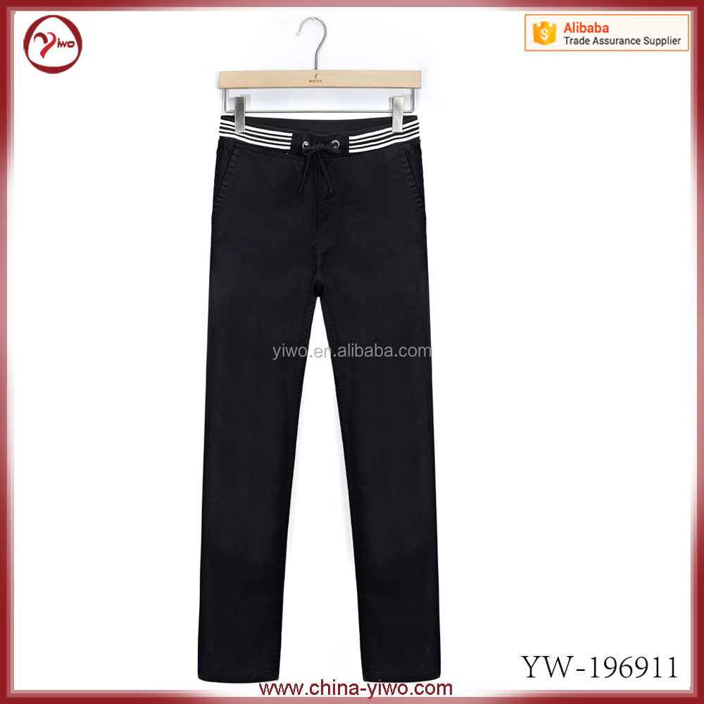 OEM cotton twill sports wear wholesale men jogger sweatpants