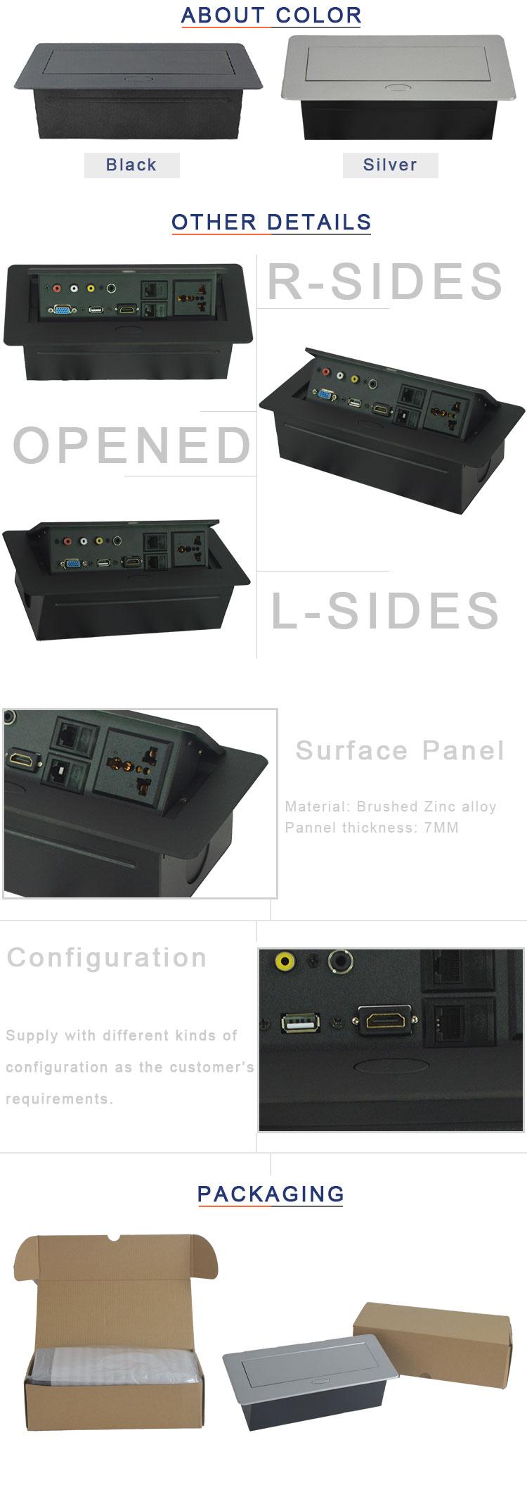 Boite Cache Prise Electrique table cachée boîte de connexion/pop up boîte de prise de courant pour des  meubles de conférence - buy boîte pop-up,boîte de prise de table,prise de