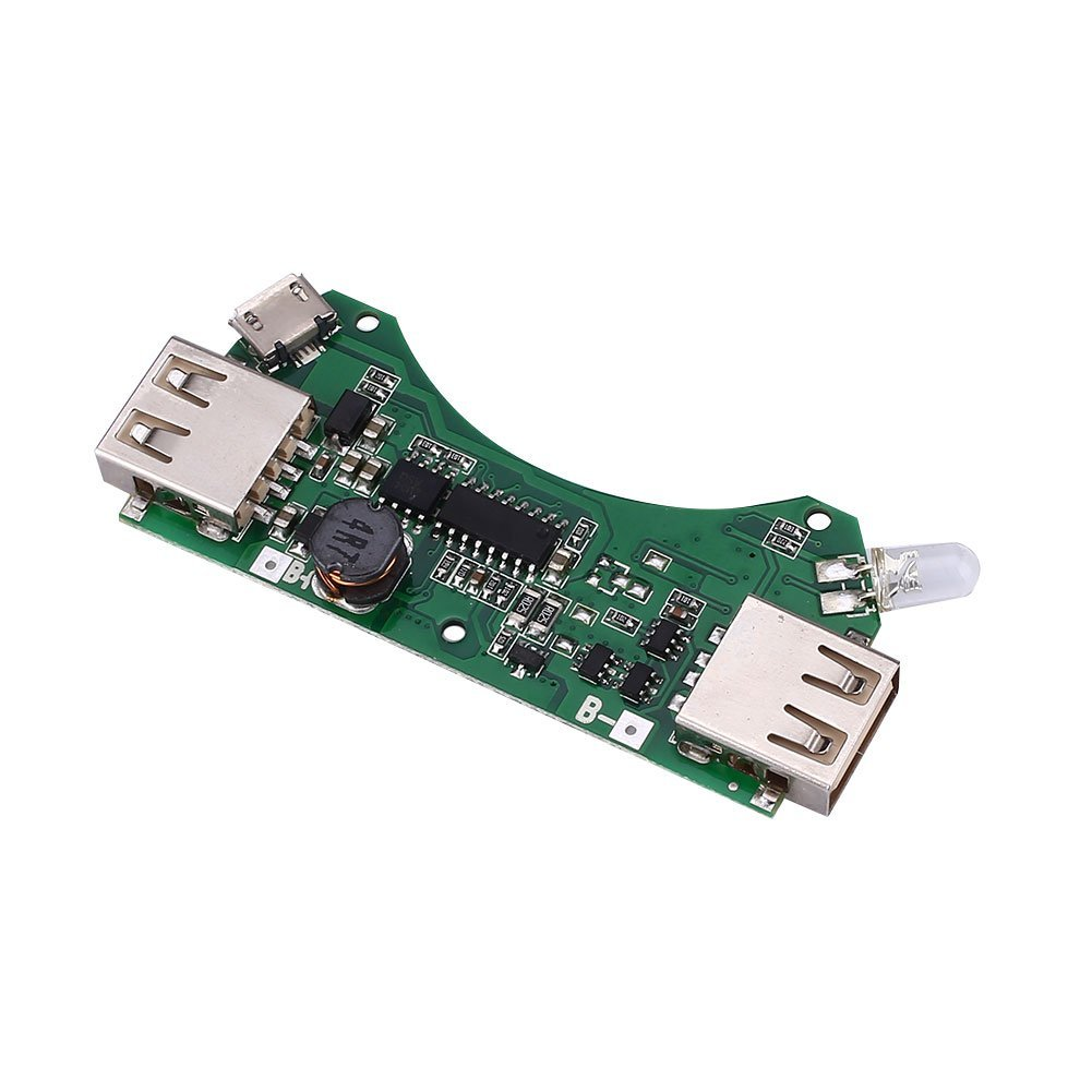 Cheap Usb Pcba Circuit Board Interframe Media Make Printed Pcbgogo Get Quotations Hanbaili Portable 5v Dual Power Bank Charger Modules For