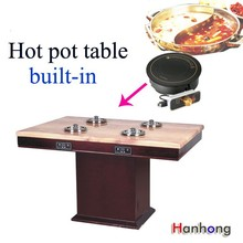 Kitchen equipment pot Burner hot pot table restaurant