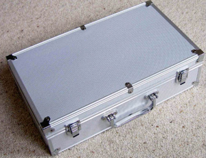 Ultimate Aluminum Carrying Case For Trading Cards Professional Deck Protector Sleeve Deck Box