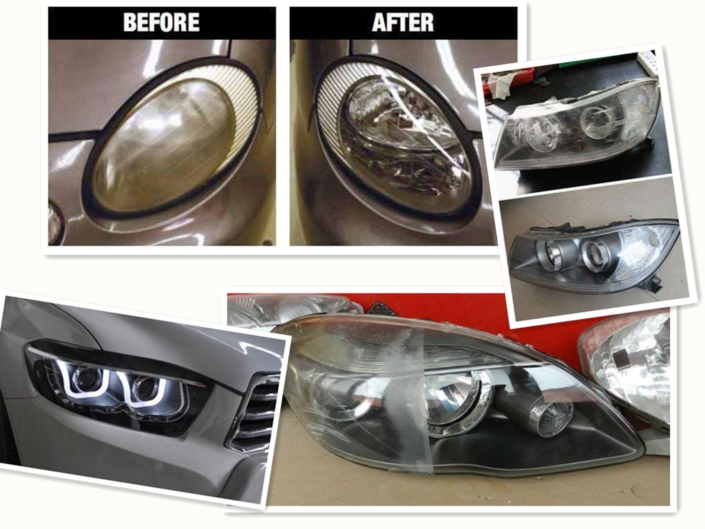 Headlight Renovation kit/headlight lens Steam/Auto Headlights Repair Tools