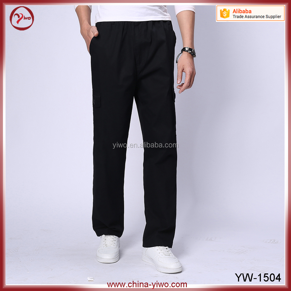 New 6 pocket 100% cotton wholesale men jogger sweatpants