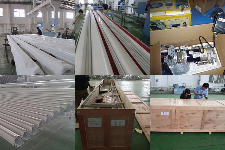 China Big Steel /iron Industrial Roller Door Supplier