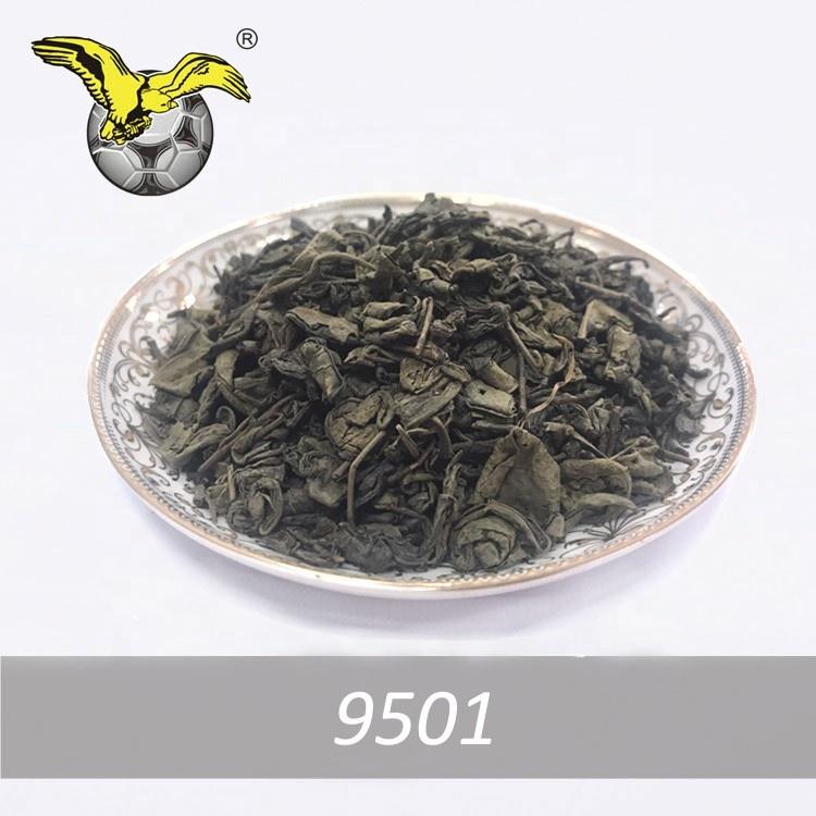 chinese cheap price green tea gunpowder tea 9501 the vert loose leave tea for UZ markert