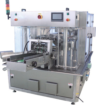 Formed Premade stand-up bag doypack packaging machine