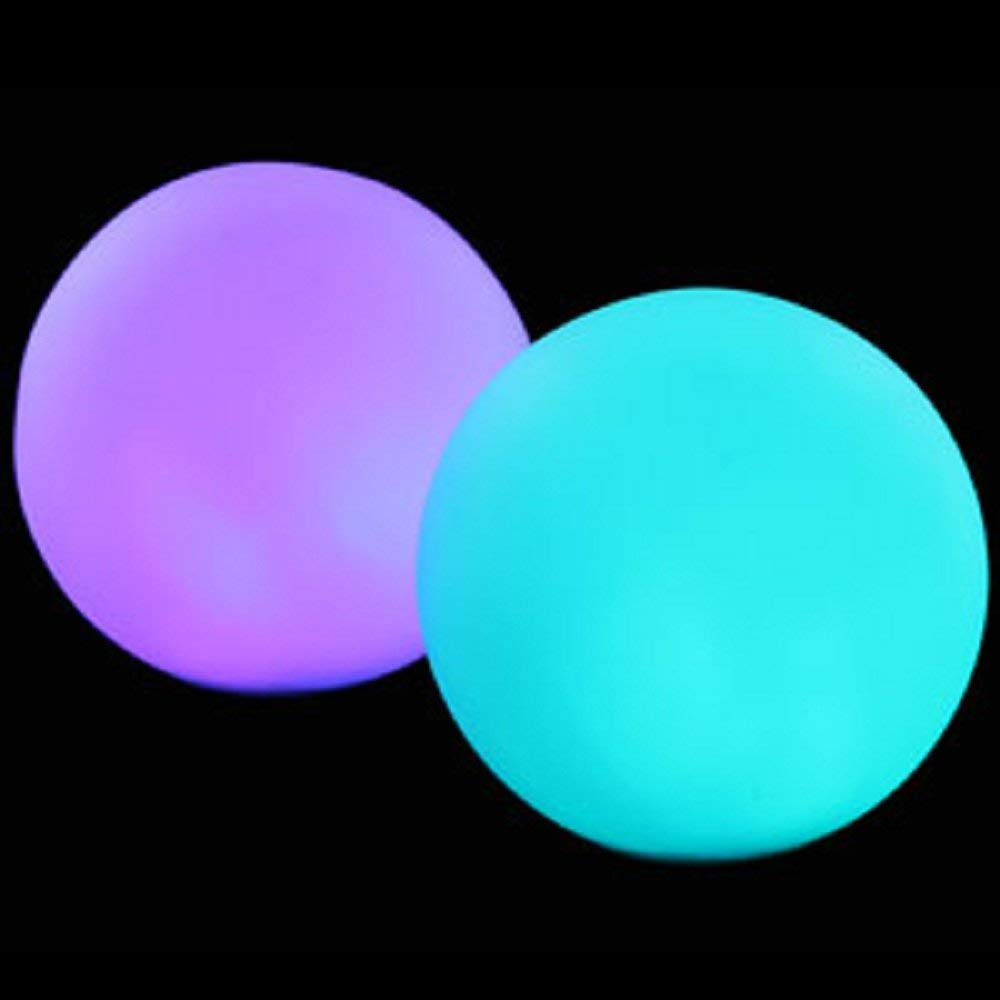 Fun Central AC078, 1 Pc, 3 Inches, LED Waterproof Ball Mood Light, LED Pool Ball, LED Glow Balls for Pool,LED Waterproof Ball, Waterproof LED Light Ball
