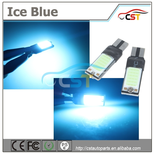 2016 Super Brightness Error free rgb smd canbus w5w 194 t10 2.2w cob led for car reading light, turning light