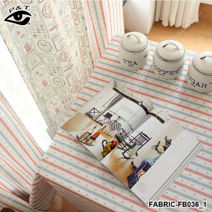 140cm width Japanese pattern print linen fabric sublimation printed fabric Vintage canvas textile cotton