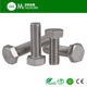 M1.6 M20 M30 A2 A4 stainless steel DIN 933 hex bolt