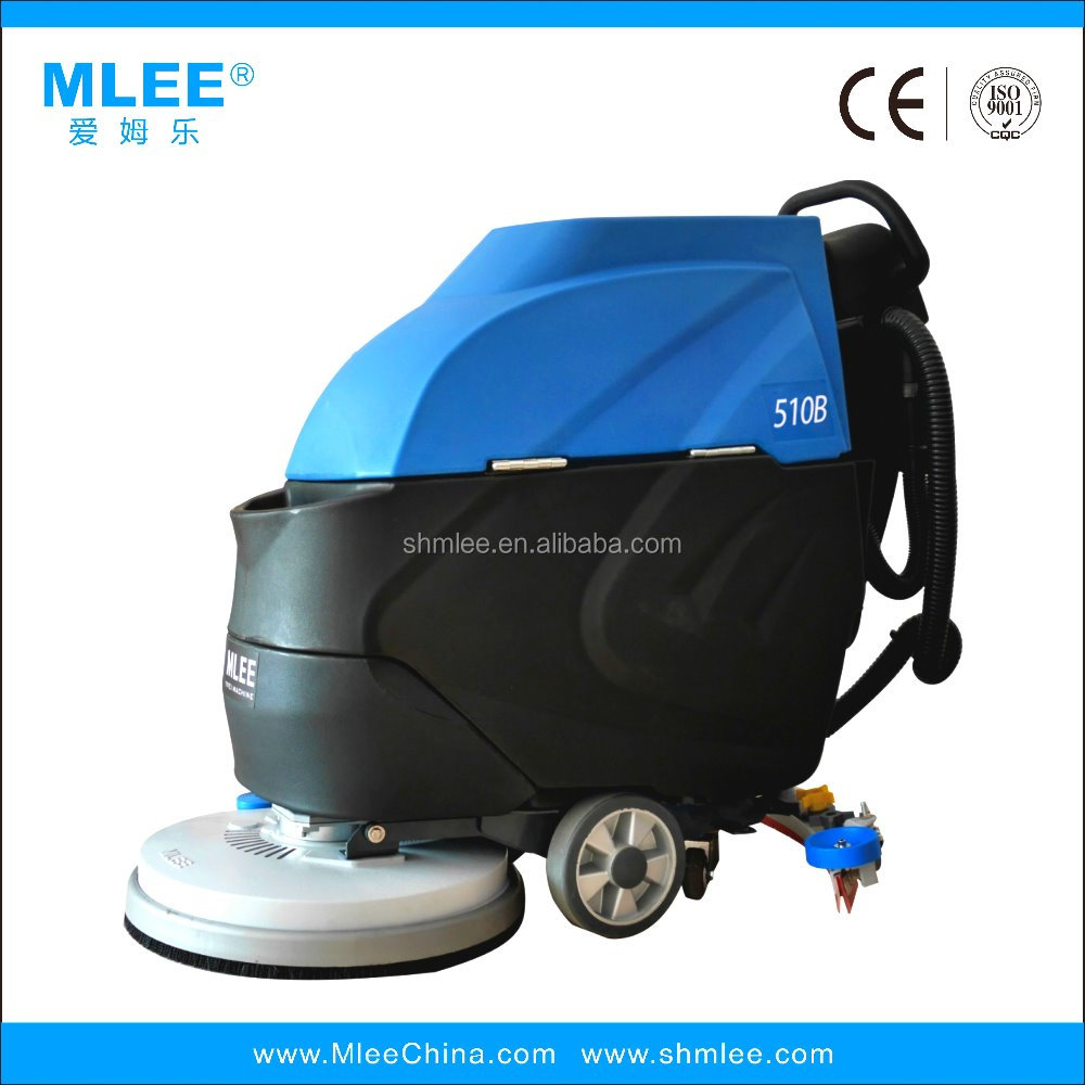 MLEE510Bwalk behind wet and dry Floor scrubber dryer