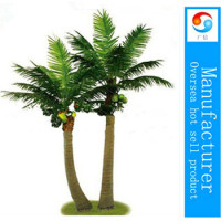 Hot sale decorative artificial coconut palm tree