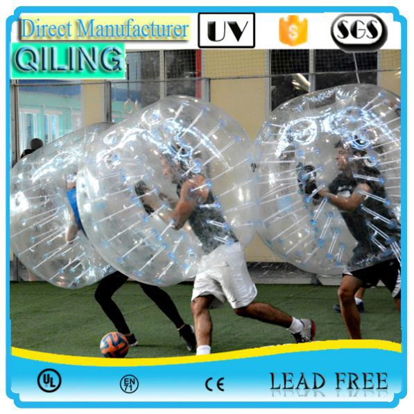 China Gold Supplier New airtight bubble soccer for activities for kids