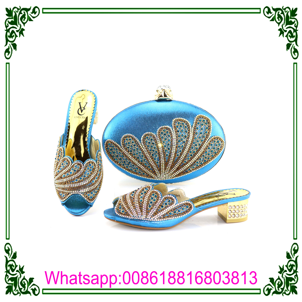 Italian With italian 2018 party Shoes Latest Bags Matching Design nInAY7