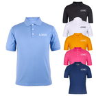 Wholesale High Quality Embroidery Dry Fit 100% Cotton Men Custom Polo Shirts
