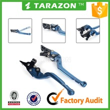 CNC aluminium alloy adjustable motorcycle brake clutch lever for YAMAHA FZ 6R parts