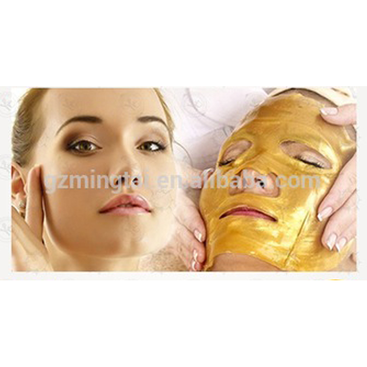 Luxe 24 k Nano Or Collagène Cristal Masque Facial 5 Paquets