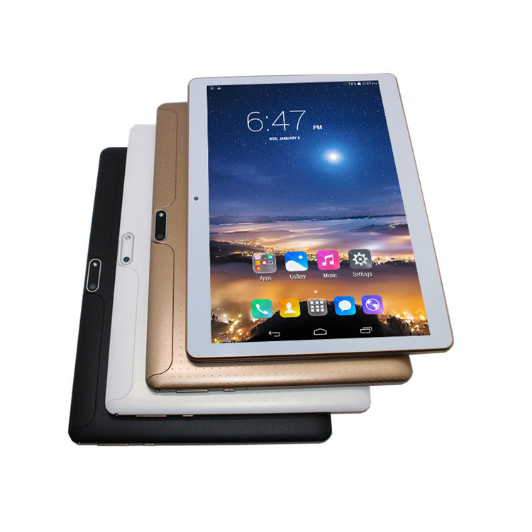 Tablet 10,1 inch 3G anruf tablet pc MTK6582 IPS bildschirm quad core + dual sim + GPS + bluetooth + 1G/16G + OTG + wifi phablet