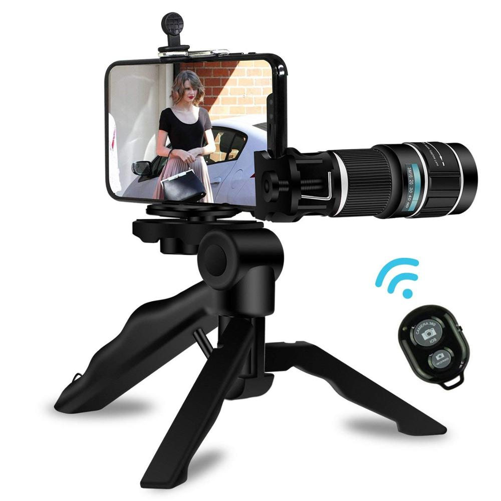 New product ideas 2018 wholesale hd telephoto len 18X zoom cell phone camera for mobile phones 4g