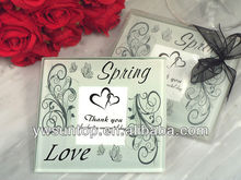 Cheap Spring love photo Glass Coasters wedding return favors gifts