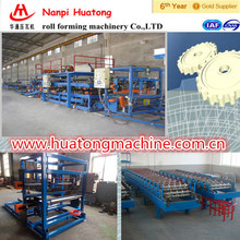 Color steel roof EPS Sandwich metal profile machine line