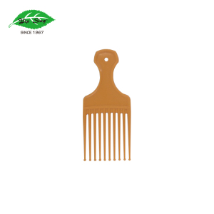 Hot Sales Friction Free Afro Hair Pick Wig Comb, Plastic Hook Comb for curly hair