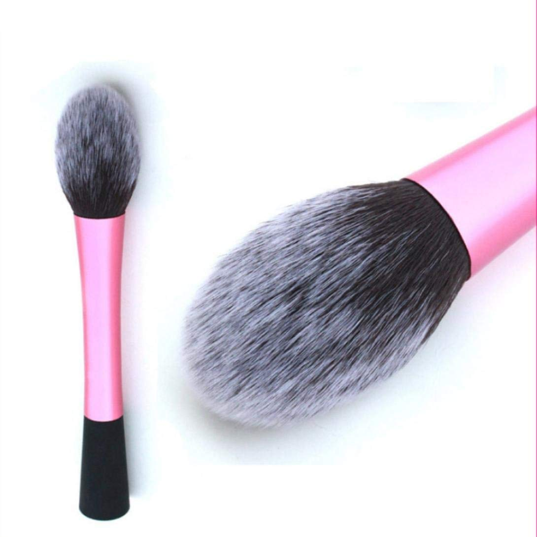 Wqueen 1pc Soft Kabuki Contour Face Powder Foundation Blush Brush Makeup Cosmetic Tool Foundation Makeup Brush Flat Top for Face Perfect For Blending Liquid Cream or Flawless Powder Cosmetics