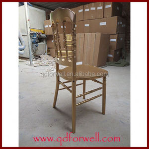 Wholesale Fancy Wood Stacking wooden napoleon iii chair for tables and Bar