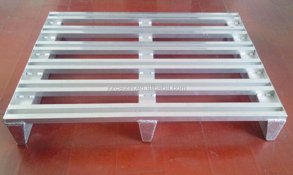 recyclable and moisture resistance aluminum pallet