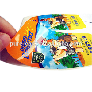 Customize die cut waterproof vinyl sticker