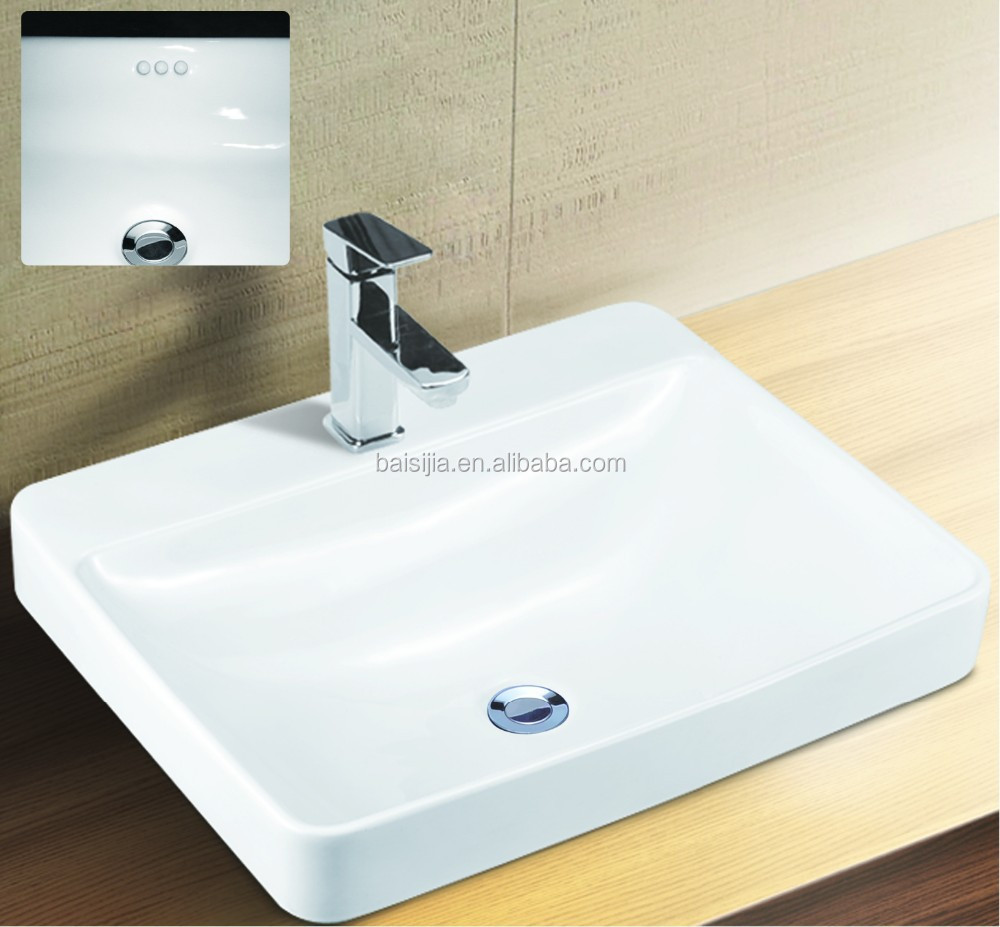 Toto Design Bathroom Counter Top Wash Basin/lavatory Sink (bsj-a8458 ...
