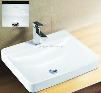 Superbe TOTO Design Bathroom Counter Top Wash Basin/lavatory Sink (BSJ A8458)