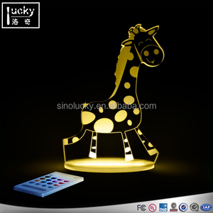 sheep night light / Table Lamp Giraffe /Colour Changing Night Light, Giraffe
