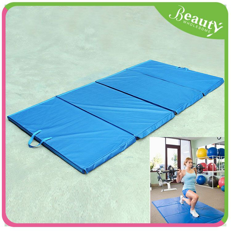 Folding panel gym exercise mat H0Tgv gymnastics mat