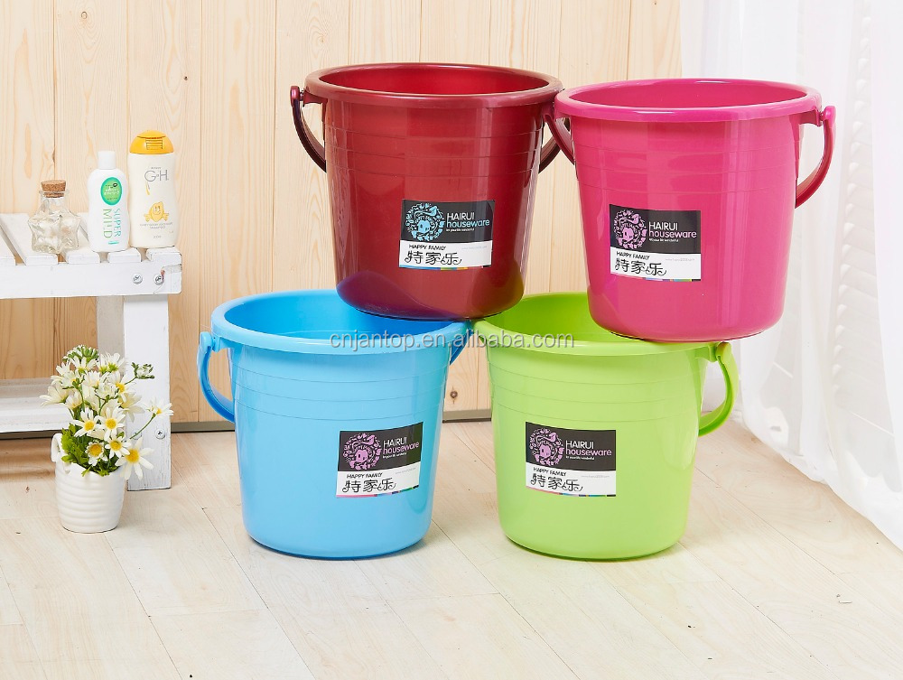 Hot Sale High Quality PP 10L Home Plastic Bucket With Handle