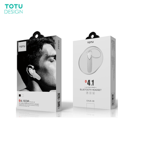 TOTU Hot Selling Single Wireless Earphone For Car Driving Strong Connection Long Working Time Wireless Earphone For Business