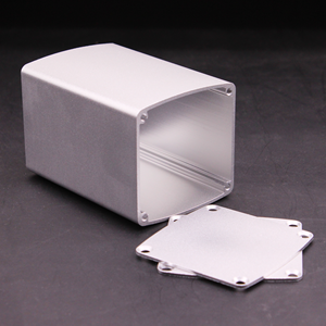 High quality aluminum 6063 alloy material extruded enclosure with heatsink fins for electronic instrument