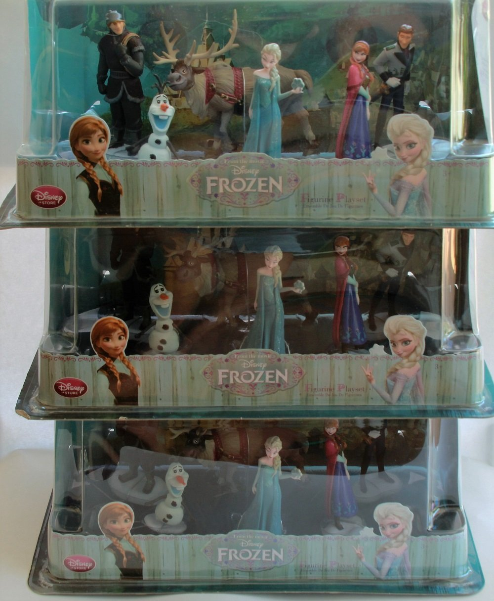 Disney's Frozen Figurine Playset, Pack of 3, Great Savings!