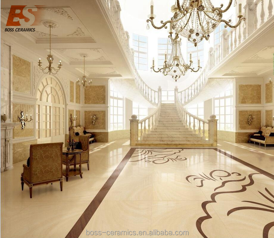 600*600 & 800*800mm Sand Stone double loading polished porcelain floor tile made in China