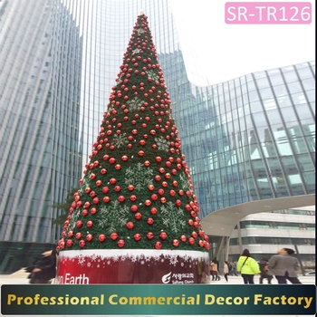 6meter Metal Frame Artificial Giant Christmas Tree Ornament