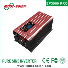 EP3000 PRO series built in 50A solar charge controller off grid low frequency 6000 watt pure sine wave inverter