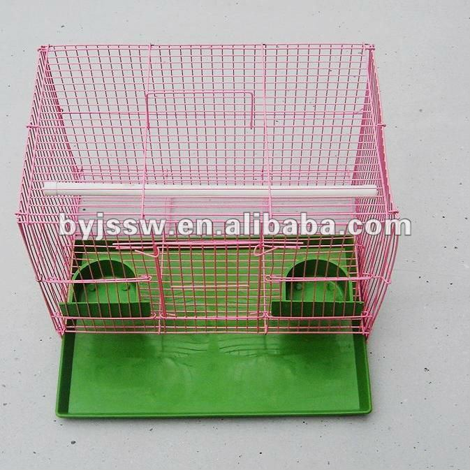 Wrought Wire Foldable Bird Breeding Cage Parrot Cage