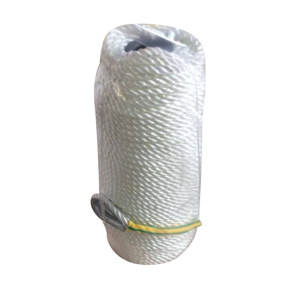 IdealBuy 30m/100Ft Professional Thick High Strength Mooring Rope Anchor Mooring Rope Twisted Braid Nylon Dockline White
