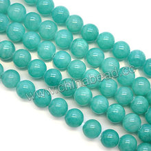 Factory sell smooth round 10mm jade beads natural jade stone price
