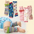 Baby Leg Warmers Boy Girl Crawling Legging 3pairs Infantil Knee Socks Cartoon Animal Warm Cotton Kneepads