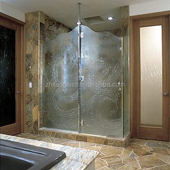 Bathtub Frameless 12mm Tempered Wall Panels Glass Shower Doors