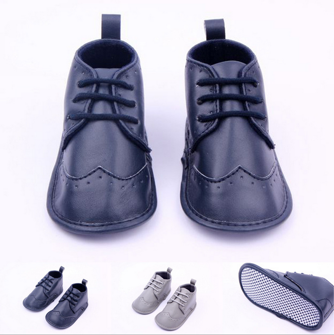 2017 Hot Sale Baby Boots For Boys PU Leather