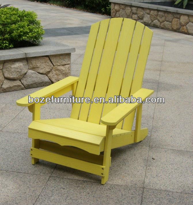 outdoor kunststoff holz stuhl gartenm bel adirondack stuhl. Black Bedroom Furniture Sets. Home Design Ideas