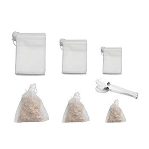 sturdy and easy to fill loose tea bags great for making medicinal teas